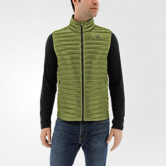Super Light Down Vest, Olive Cargo