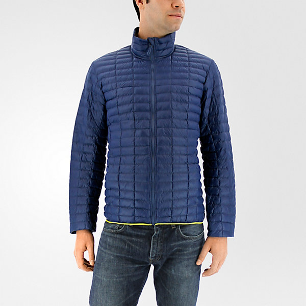 Flyloft Jacket, Mineral Blue/unity Lime, large