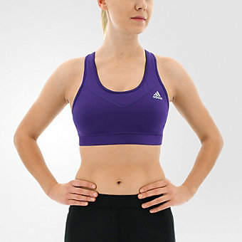 Techfit Bra Solid, Unity Purple/Matte Silver