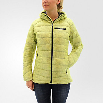 Terrex Climaheat Agravic Hooded Down Jacket, Ice Yellow/utility Black