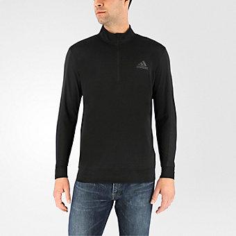 Cc Long Sleeve 1/4 Zip, Black