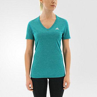 Ultimate Short Sleeve V-neck, Eqt Green/Matte Silver
