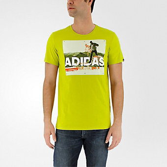 Trail Running Tee, Unity Lime