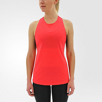 Performer Tank, Shock Red/matte Silver