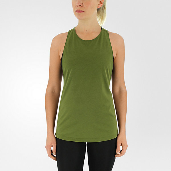 Performer Tank, Craft Green/matte Silver, large