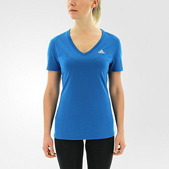 Ultimate Short Sleeve V-neck, Unity Blue/Matte Silver