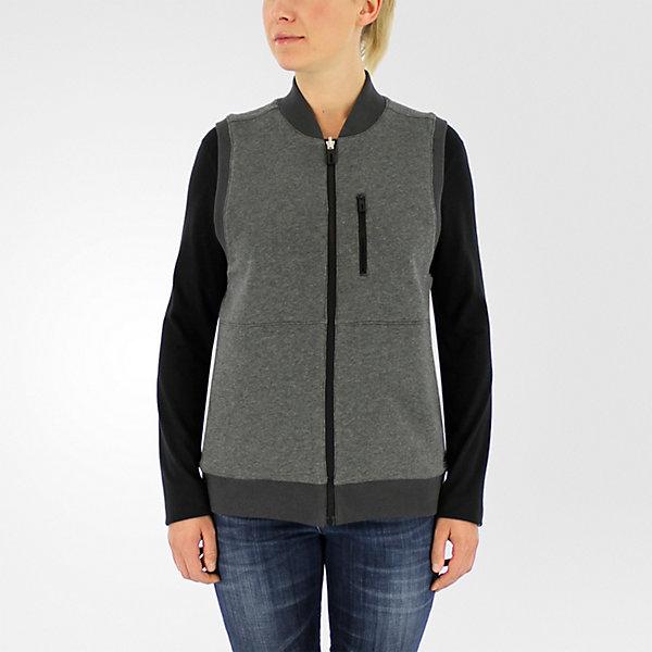 Reversible Sportswear Vest, Black/dark Gray Heather, large