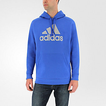 Cotton Pullover Core, Blue/medium Solid Gray