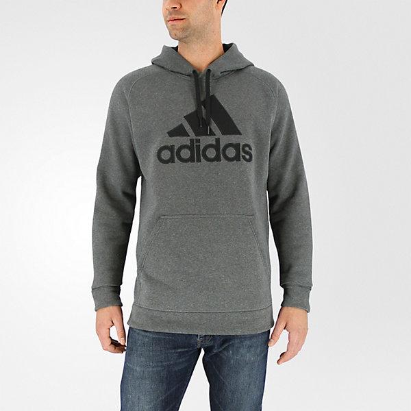 Cotton Pullover Core, Dark Gray Hthr/black, large
