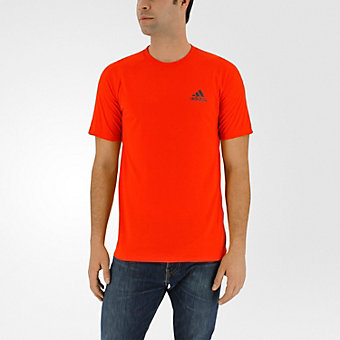 Ultimate Short Sleeve Tee, Bold Orange/Black