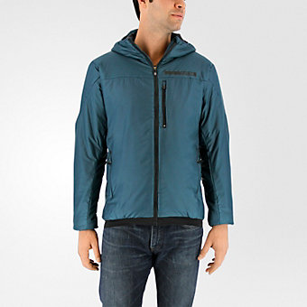 Terrex Ndosphere Flex Hooded Jacket II, Utility Green
