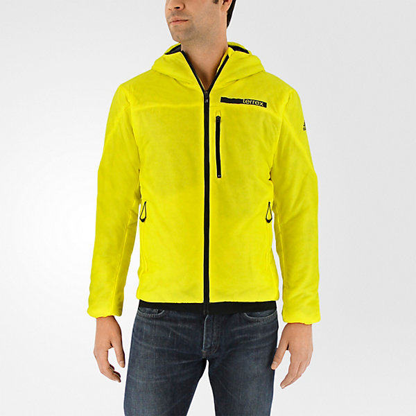 Terrex Ndosphere Flex Hooded Jacket II, Bright Yellow, large