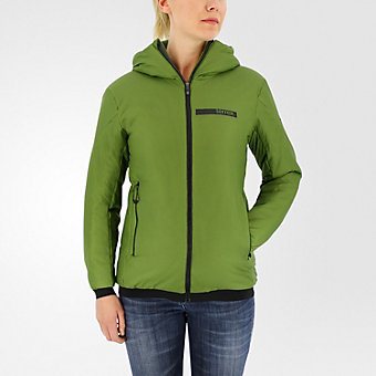 Terrex Ndosphere Flex Hooded Jacket II, Craft Green