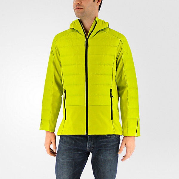 Hybrid Down Jacket, Unity Lime, large