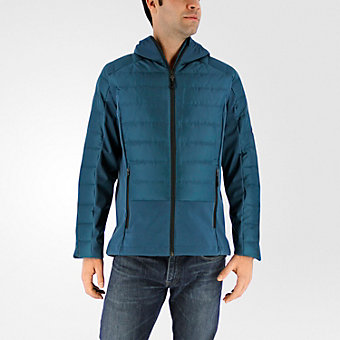 Hybrid Down Jacket, Utility Green