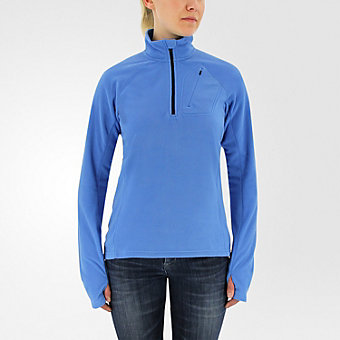 Reachout 1/2 Zip Fleece, Ray Blue