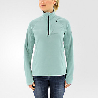 Reachout 1/2 Zip Fleece, Vapour Steel