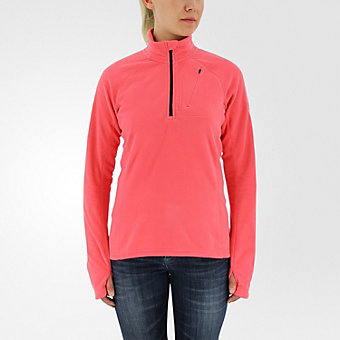 Reachout 1/2 Zip Fleece, Super Blush