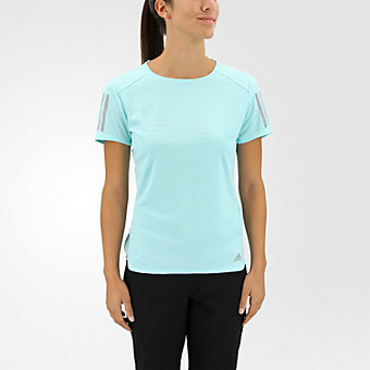 Response Short Sleeve Tee, Energy Aqua