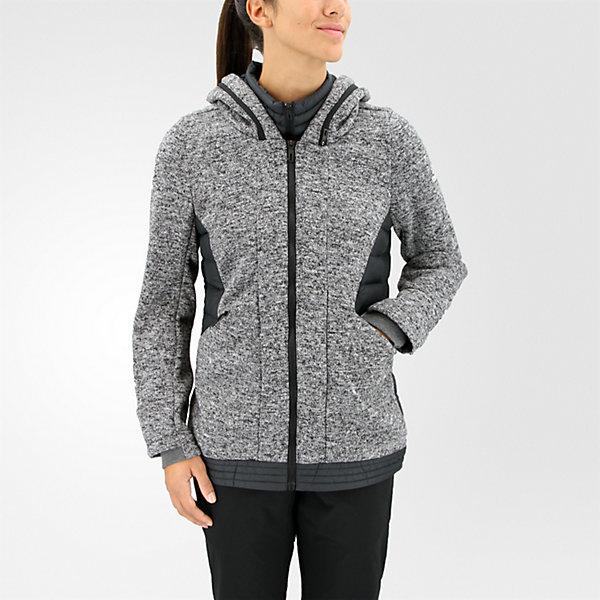 Layered Padded Jacket, Dark Solid Grey/Black/Black, large