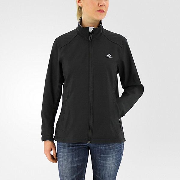 Hiking Softshell Jacket, Black, large