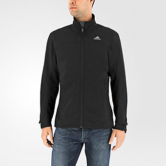 Hiking Softshell Jacket, Black