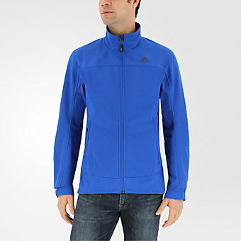 Hiking Softshell Jacket, Blue Beauty, medium