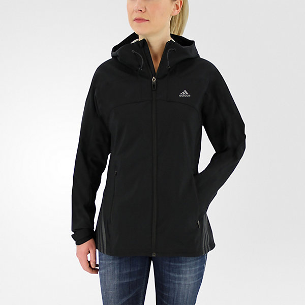 W Terrex Swift Softshell Jacket, Black, large