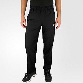 Essential Track Pant, Black/Black/White