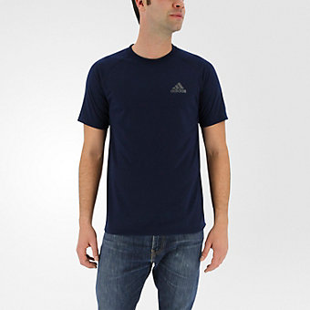 Ultimate Short Sleeve Tee, Collegiate Navy/Dark Solid Gray