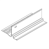 Acoustical and Drywall Transition Molding - 7902