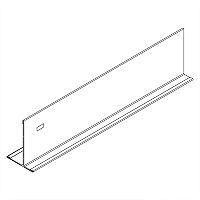 Acoustical and Drywall Transition Molding - 7903