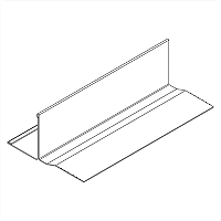 Acoustical and Drywall Transition Molding - 7904