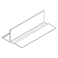 Acoustical and Drywall Transition Molding - 7905