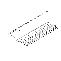 Acoustical and Drywall Transition Molding - 7908