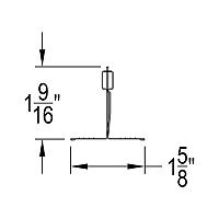 QUIKSTIX Drywall Grid System for Soffits - QS812