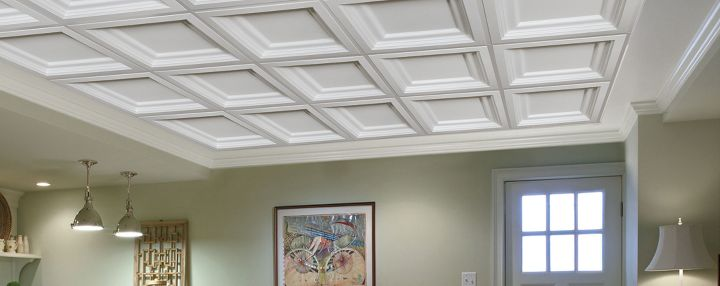 Coffered Ceilings Easy Elegance Ceilings By Armstrong