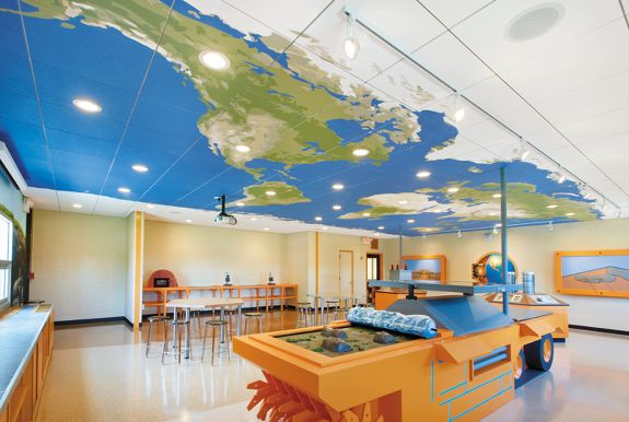 classroom ceilings