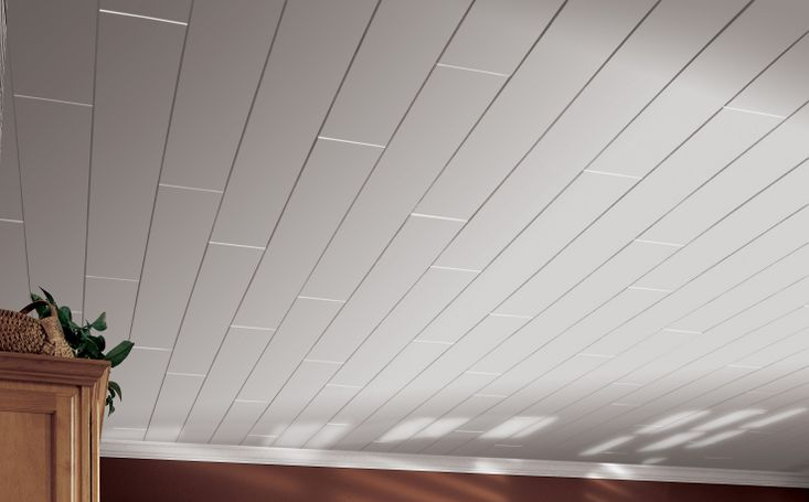 Armstrong ceiling planks joy studio design gallery for Faux wood ceiling planks