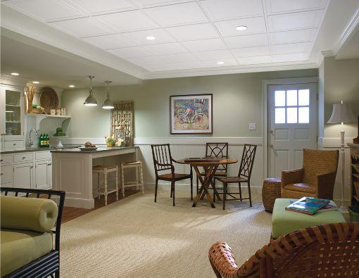 Single Raised Panel HomeStyle Ceilings Coffered Paintable ...