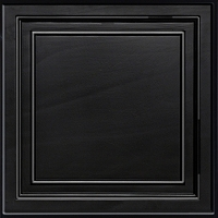 Shallow Coffer Black (BL)