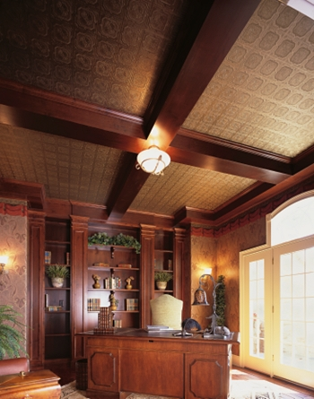 Ceilings: Home Office Ceiling Design Gallery Traditional Style