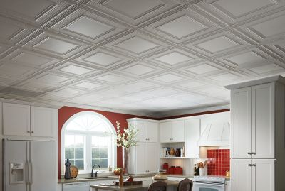 Metallaire Hammered Border   Item #: 5424509NWH. View This Ceiling