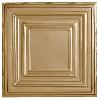 Metallaire Large Panel Brass
