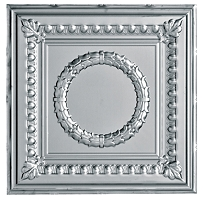 Metallaire Wreath Chrome