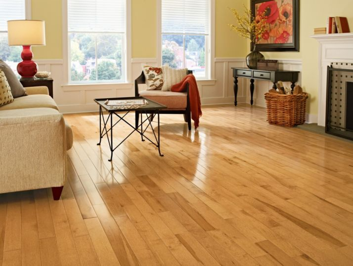Maple flooring hardwood from bruce