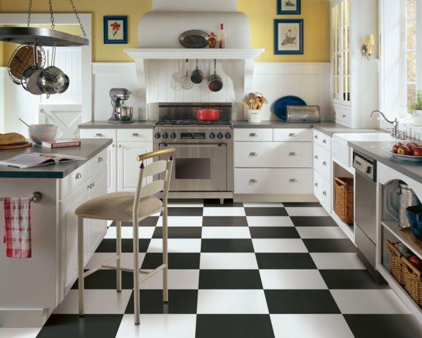 black and white tile | black and white vinyl flooring
