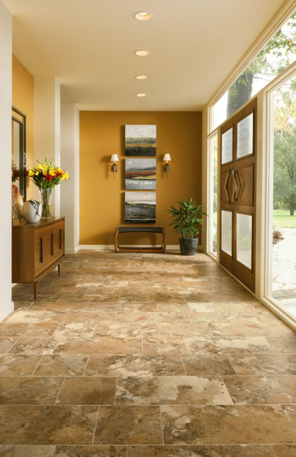 Natural stone flooring look - Alterna - D4340