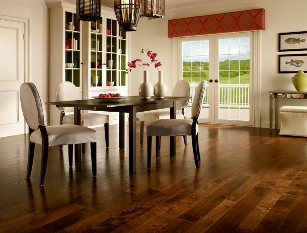 Dining room design with Artesian Hardwood – EMW6311