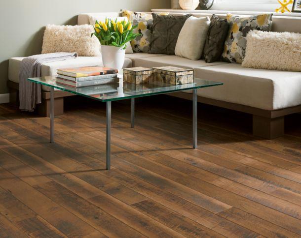Sawmill Oak Laminate Flooring Installation L3104